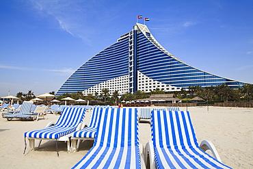 Jumeirah Beach Hotel, Jumeirah Beach, Dubai, United Arab Emirates, Middle East