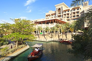 The Madinat Jumeirah Al Qasr Hotel, Jumeirah Beach, Dubai, United Arab Emirates, Middle East