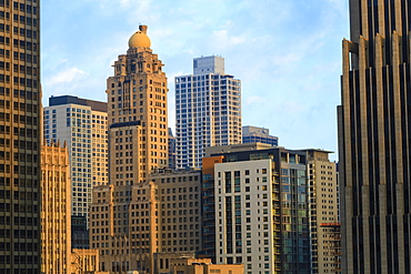 Skyscrapers, Chicago, Illinois, United States of America, North America
