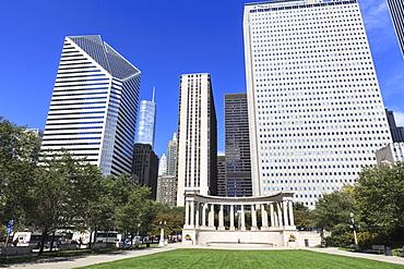 Millennium Monument, Millennium Park, Chicago, Illinois, United States of America, North America
