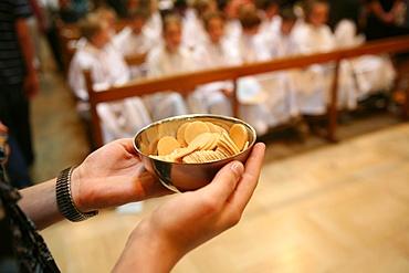 Hosts for Eucharist, Annecy, Haute Savoie, France, Europe