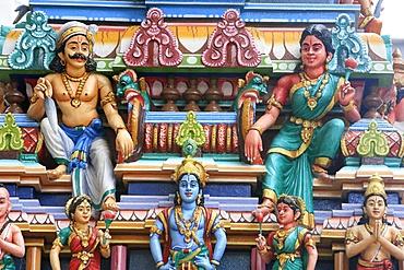 Sri Maha Mariamman temple, Kuala Lumpur, Malaysia, Southeast Asia, Asia