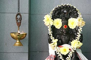 Thechinamoorthy, Sri Maha Mariamman temple, Penang,  Malaysia, Southeast Asia, Asia