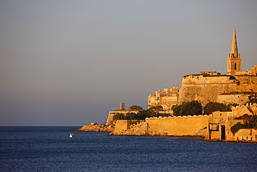 Carmelite Church in Valletta, Malta, Mediterranean, Europe