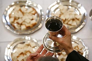 Protestant Eucharist, Paris, Ile de France, France, Europe