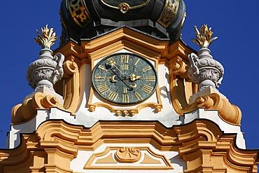 The baroque exterior of Melk Abbey, Melk, Basse-Autriche, Austria, Europe