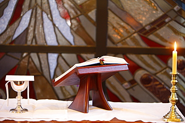 Eucharist, Chapel of the Holy Spirit, Anglican Church of St. James, Sydney, New South Wales, Australia, Pacific