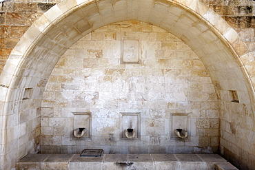 Mary's well, Nazareth, Galilee, Israel, Middle East