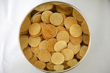 Host wafers, Pontigny, Yonne, France, Europe
