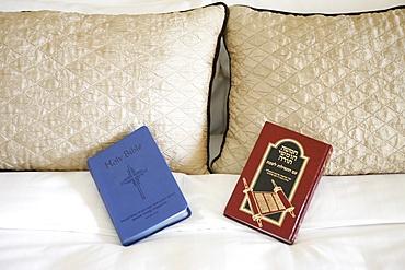Bible and Torah, Abu Dhabi, United Arab Emirates, Middle East