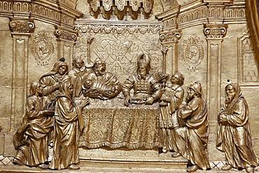 Jesus at the Temple, Melk Abbey, Melk, Lower Austria, Austria, Europe