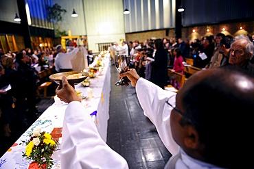 Eucharist celebration, Paris, France, Europe