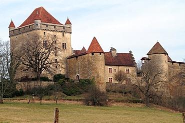 Chateau du Pin, Le Pin, Jura, Franche Comte, France, Europe