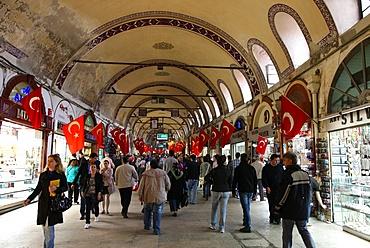 Istanbul's Grand Bazaar, Istanbul, Turkey, Europe