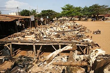 Akodessewa fetish market, Lome, Togo, West Africa, Africa