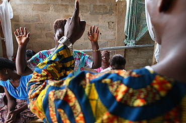 Evangelical church, Lome, Togo, West Africa, Africa