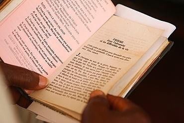Prayer book, Lome, Togo, West Africa, Africa