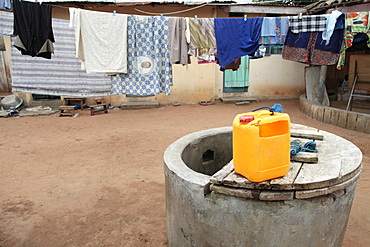 Water well in Africa, Lome, Togo, West Africa, Africa
