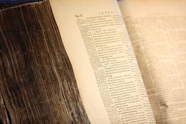 Old Bible, Paris, France, Europe