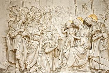 Adoration of the Magi, St. Germain l'Auxerrois church, Paris, France, Europe