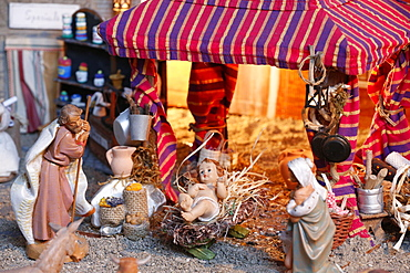 Christmas crib, Rome, Lazio, Italy, Europe