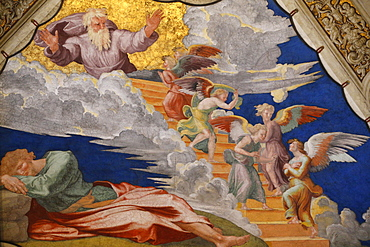 Jacob's dream, Room of Heliodorus, Vatican Museum, Vatican, Rome, Lazio, Italy, Europe
