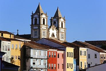 Pelourinho, the historical center of Salvador, UNESCO World Heritage Site, Bahia, Brazil, South America