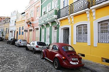 Pelourinho, UNESCO World Heritage Site, the historical center of Salvador, Bahia, Brazil, South America