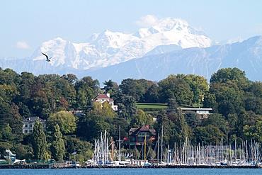 Marina, Lake Geneva, Switzerland, Europe