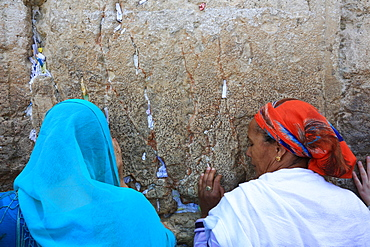 Women's Section of the Western Wall in Jerusalem, Israel, Middle East