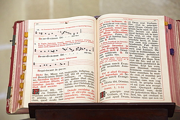 Missal in Jerez Cathedral, Andalucia, Spain, Europe