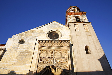 The 14th century Gothic-Mudejar church of Nuestra Senora de la O, Sanlucar de Barrameda, Andalucia, Spain, Europe