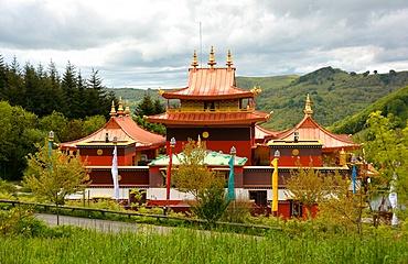 Lerab Ling Buddhist Monastery, Roqueronde, Herault, Languedoc, France, Europe