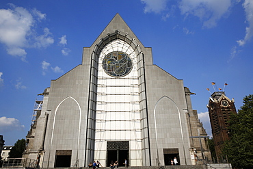 Notre Dame de la Treille Cathedral, Lille, Nord, France, Europe