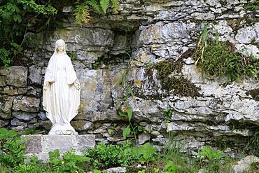Virgin Mary, St. Germain-sur-Talloires, Haute-Savoie, France, Europe