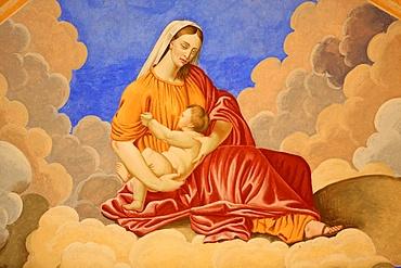 Virgin and Child, St. Nicolas de Veroce church, Haute Savoie, France, Europe