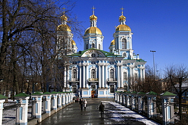 St. Nicholas Naval Cathedral, St. Petersburg, Russia, Europe