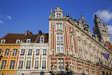 Lille's Chamber of Commerce, Lille, Nord, France, Europe