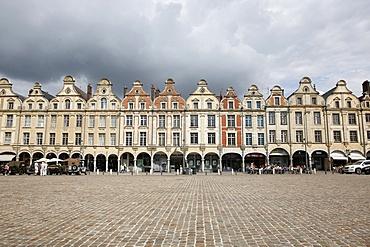 Place des Heros (Square of the Heroes), Arras, Pas de Calais, France, Europe