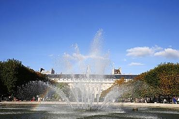 Palais-Royal Gardens, Paris, France, Europe
