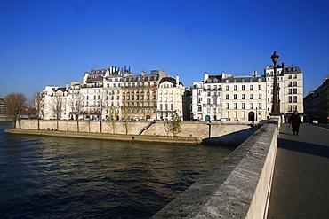 Quai d'Orleans, Ile Saint-Louis, Paris, France, Europe