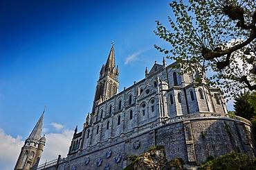 Notre-Dame du Rosaire Basilica, Lourdes, Hautes-Pyrenees, France, Europe