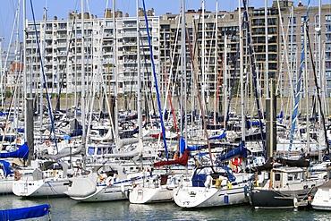 Blankenberge Marina, Blankenberge, Belgium, Europe