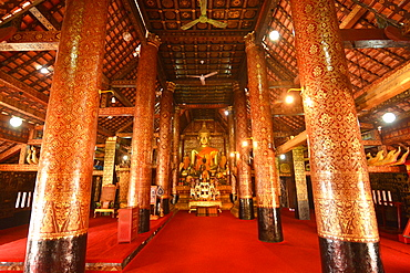 Wat Xieng Thong, UNESCO World Heritage Site, Luang Prabang, Laos, Indochina, Southeast Asia, Asia
