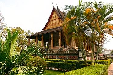 Vat Haw Pha Kaeo, Vientiane, Laos, Indochina, Southeast Asia, Asia