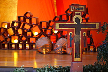 Taize Community, Church of the Reconciliation, Taize, Saone-et-Loire, Burgundy, France, Europe
