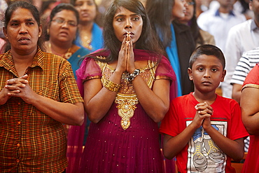 Tamil Catholic celebration, Antony, France, Europe