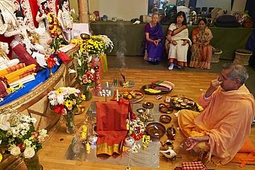 Durga Puja celebration in Paris, France, Europe