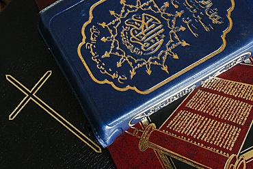 Torah, Bible and Quran, Interfaith, Paris, France, Europe