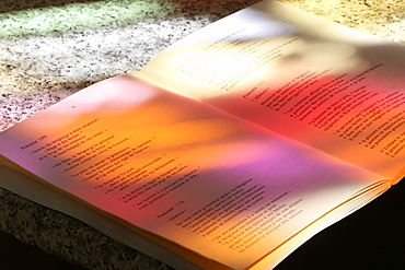 The Book of Psalms, Yvoire, Haute-Savoie, France, Europe